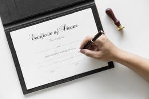 Certification of Divorce