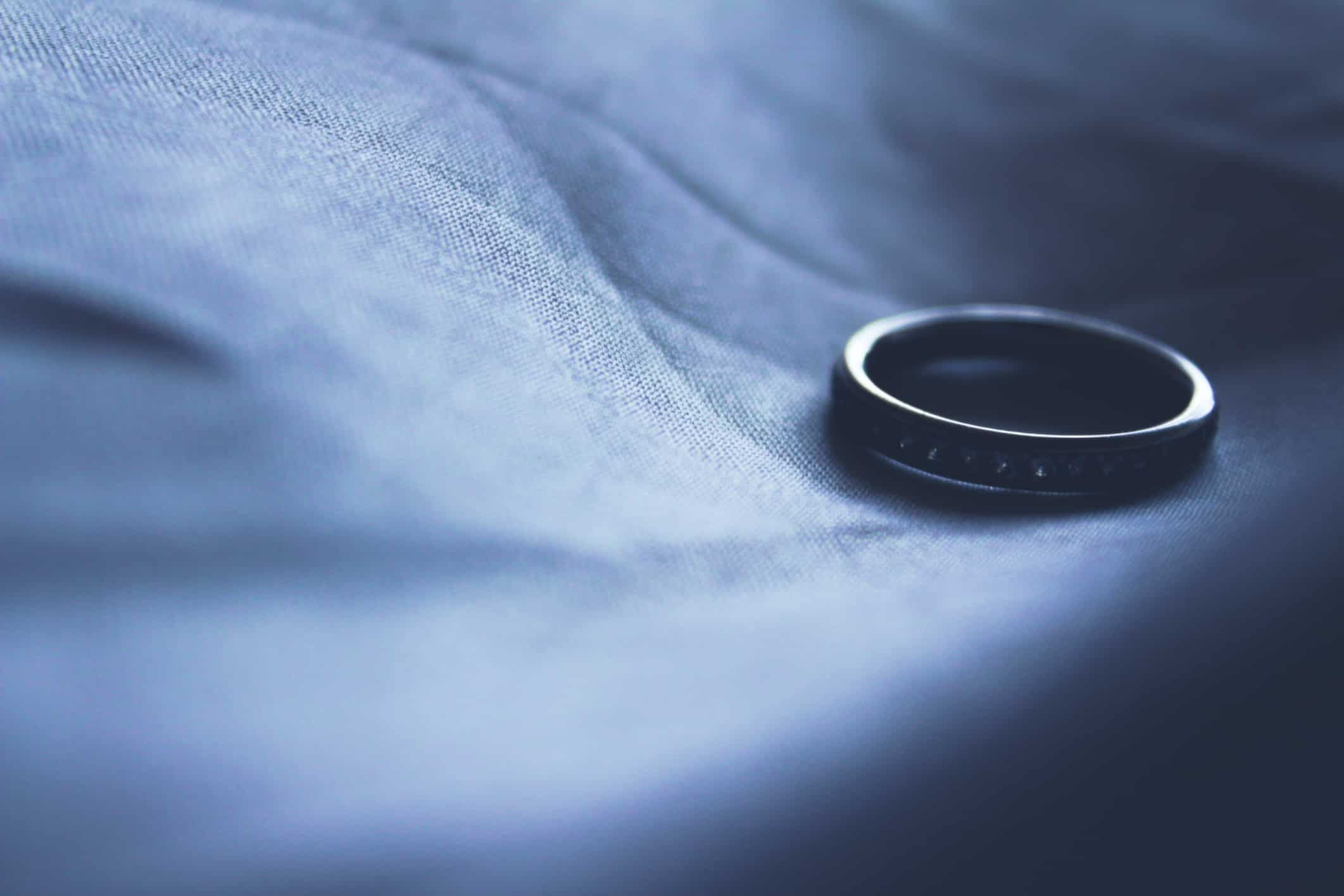 Wedding Ring divorce on grounds of adultery