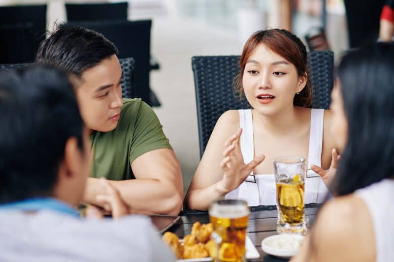 spending time more time with friends than your spouse could be a sign of an unhappy marriage