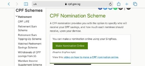 click to make a nomination online